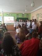 Зустріч учнів школи зі студентами та викладачами Костопільського медичного коледжу