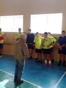 Турнір  по  волейболу  на знак вшанування світлої пам'яті учня, який був членом волейбольної команди нашої школи Охотніченко Андрія.