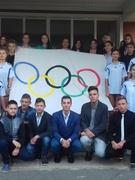 Урочисте відкриття Олімпійського шкільного свята