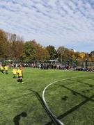 Урочисте відкриття футбольного майданчика у нашій школі
