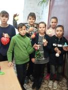 """Майстер - клас """"Новорічна іграшка"""" від Пшенички Вікторії В""""ячеславівни, мами наших учнів."""