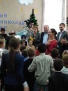 Святий Миколай завітав до дітей мистецької школи