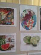 """Виставка творчих робіт учнів 11 класу """"Паперова мозаїка"""". Вчитель - Крамар М.В."""